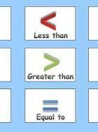 Matematică clasa 1 – Comparații de numere