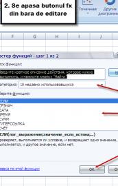 Funcții pentru șiruri de caractere în Excel