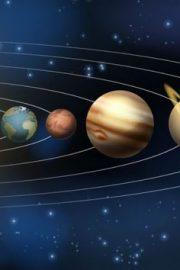 Soarele și planetele care gravitează în jurul lui (2)