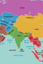 Capitalele Asiei