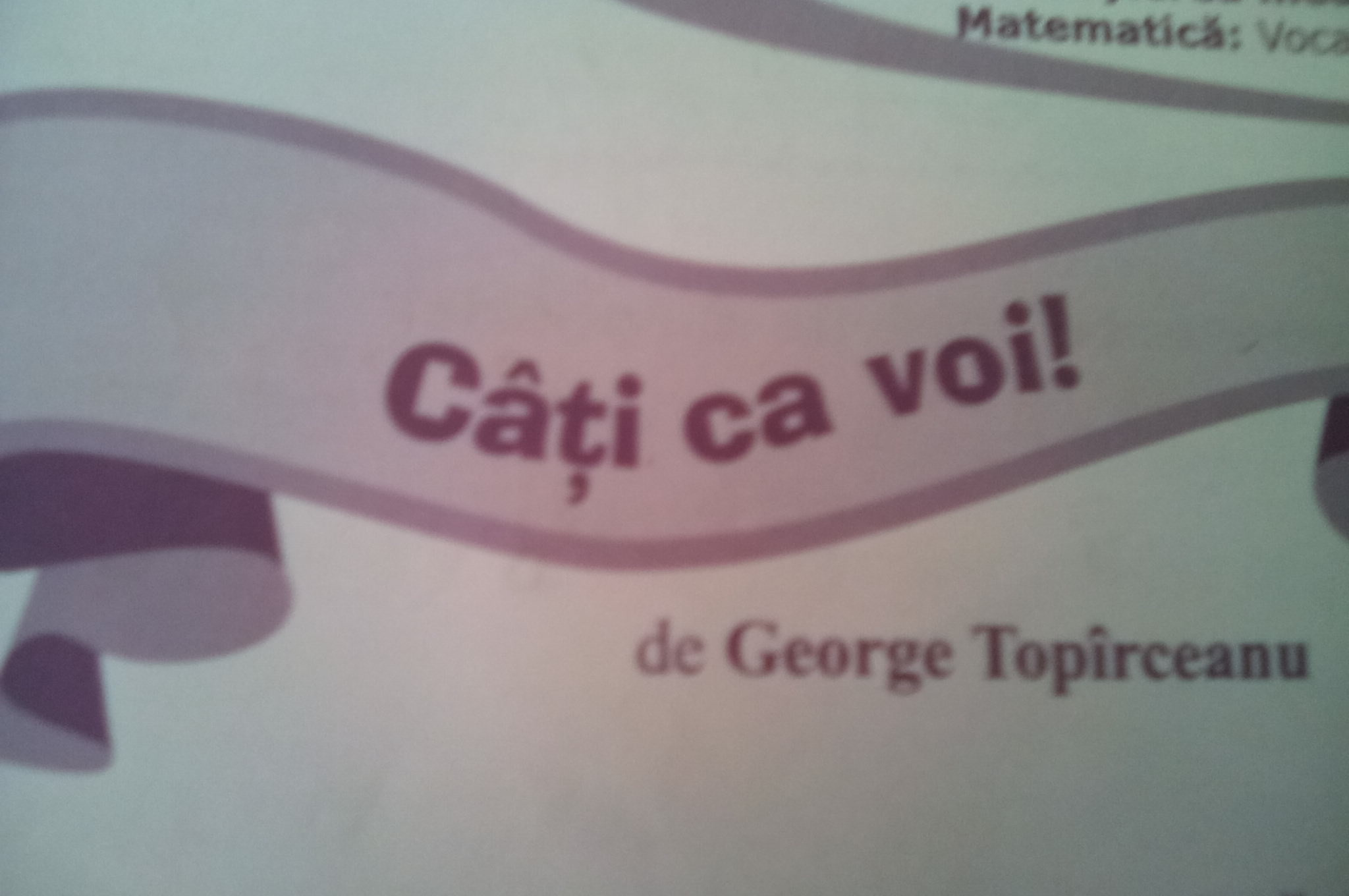 Câți ca voi! de  George Topîrceanu